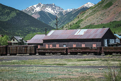Photograph - Entering Silverton by Colleen Coccia