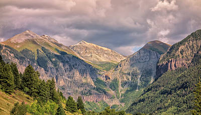 Photograph - Entering Telluride by Loree Johnson