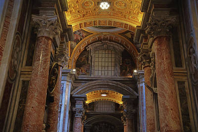 Photograph - Entering The Basilica by JAMART Photography