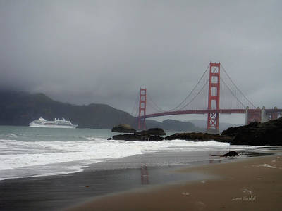 Photograph - Entering The Golden Gate by Donna Blackhall
