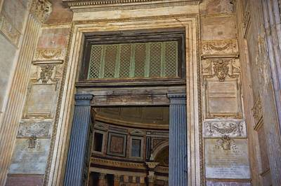 Photograph - Entering The Pantheon by JAMART Photography