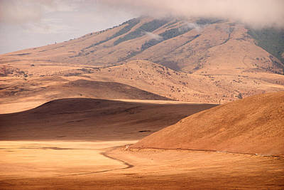 Mountains Photograph - Entering The Serengeti by Adam Romanowicz
