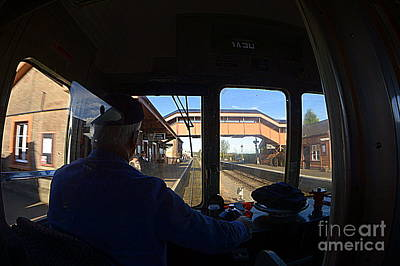 Photograph - Entering The Station by Andy Thompson