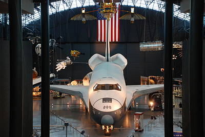 Photograph - Enterprise Space Shuttle by Renee Holder