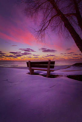 Print featuring the photograph Enters The Unguarded Heart by Phil Koch