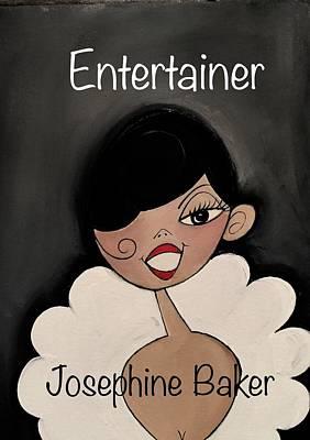 Painting - Entertainer by Deborah Carrie