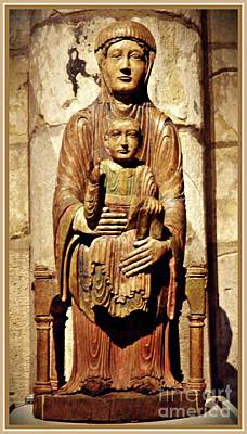 Photograph - Enthroned Virgin And Child by Sarah Loft