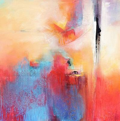 Multi Colored Painting - Enthusiastic by Karen Hale