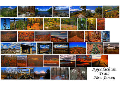 Photograph - Entire New Jersey Section Of The Appalachian Trail by Raymond Salani III