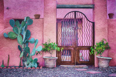 Southwest Gate Photograph - Entrada - Barrio Historico - Tucson by Nikolyn McDonald