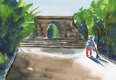Entrance At Chankanaab Art Print