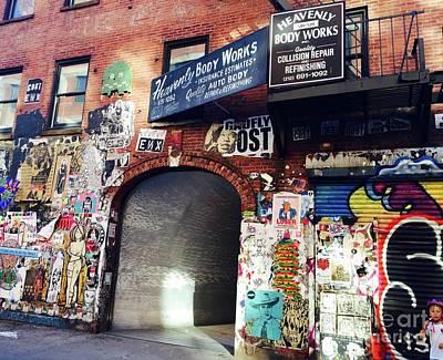 Photograph - Entrance by Beth Saffer