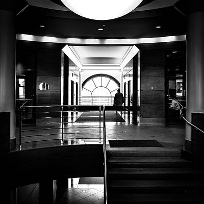 Photograph - Entrance by Bob Orsillo