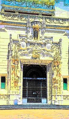 Photograph - Entrance Casa Grande by John Schneider