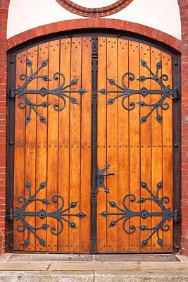 Entrance Door Print by Boyan Dimitrov