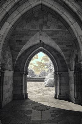 Photograph - Entrance by Fred Moore