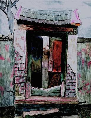 Entrance Gate Print by Merton Allen