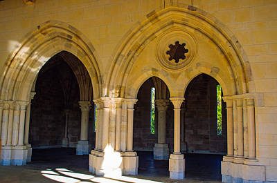 Photograph - Entrance Into The Sacred Area Of The Abbey by Tikvah's Hope