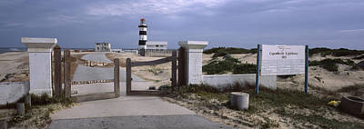 Port Elizabeth Photograph - Entrance Of A Lighthouse, Cape Recife by Panoramic Images