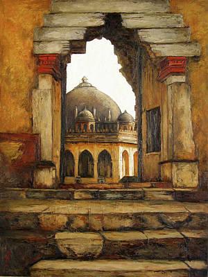 Tamilnadu Painting - Entrance by Sathya Sathya
