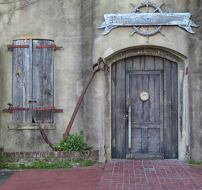 Photograph - Entrance To An Old Chandlery by Dave Mills