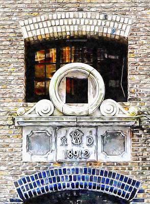 Photograph - Entrance To Cardamom Building Apartments Shad Thames by Dorothy Berry-Lound