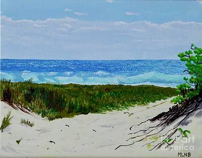Painting - Entrance To Guana Bay Beach by Margaret Brooks