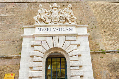 Photograph - Entrance To Museum In Vatican by Marek Poplawski