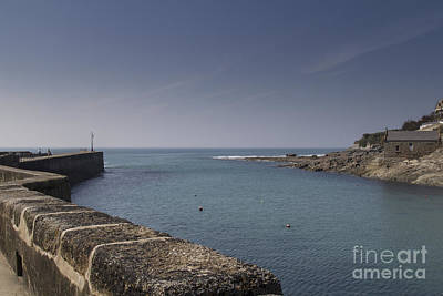 Photograph - Entrance To Porthleven Harbour by Brian Roscorla