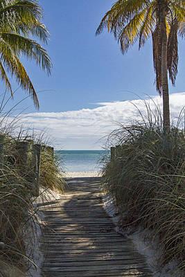 Photograph - Entrance To Smathers Beach  by Bob Slitzan