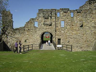 Soap Suds - Entrance to St Andrews Castle by Adrian Wale