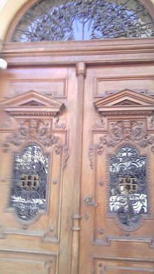 Entrance To The National Bank Of Serbia Original by Anamarija Marinovic