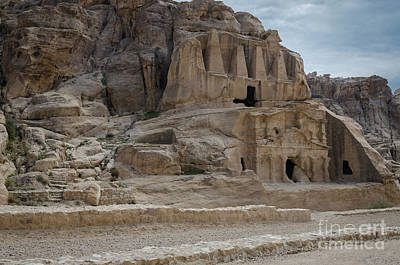 Photograph - Entrance To The Siq Petra, Jordan 3 by Perry Rodriguez