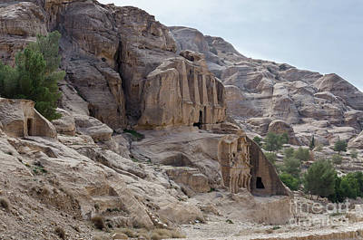 Photograph - Entrance To The Siq Petra, Jordan by Perry Rodriguez