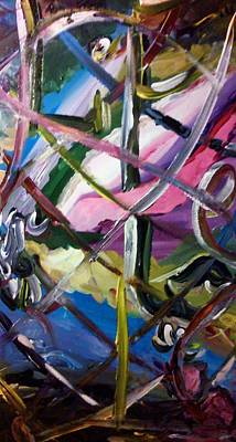 Painting - Entrapment by Ray Khalife