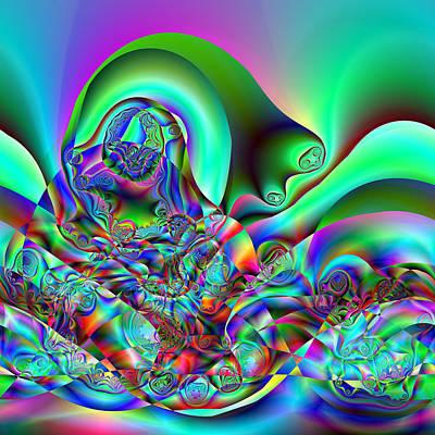 Digital Art - Entreption by Andrew Kotlinski