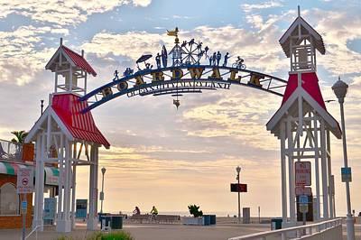 Photograph - Entry Arch - Ocean City Maryland by Kim Bemis