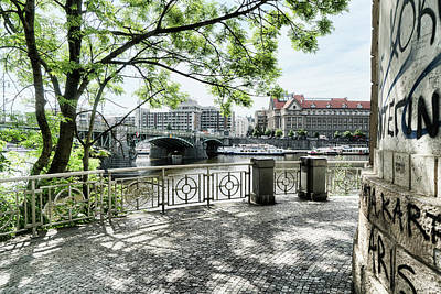 Photograph - Entry To Prague by Sharon Popek