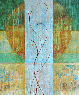 Painting - Entwined by Kate Word