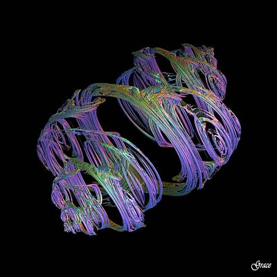 Entwined Strands Art Print
