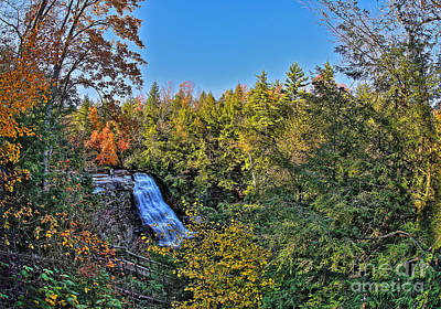Muddy Creek Falls Photograph - Enveloped In The Autumn Landscape by SCB Captures