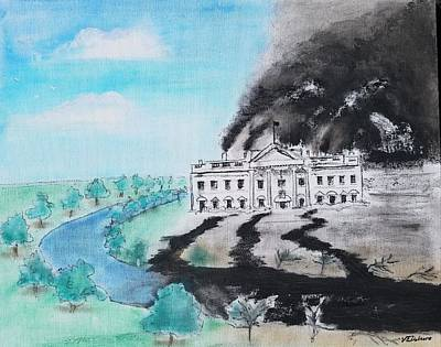 White House Mixed Media - Environmental Protection, 2017 Style by Vic Delnore