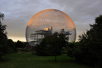 Photograph - Montreal Biosphere by Pierre Leclerc Photography