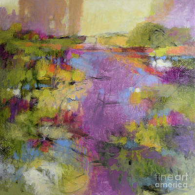 Painting - Envisioning Violet 1 by Melody Cleary
