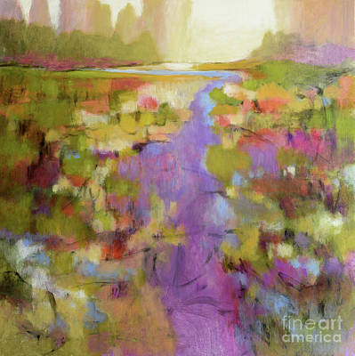 Painting - Envisioning Violet 2 by Melody Cleary