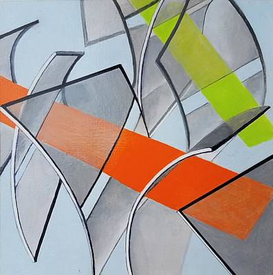 Painting - Envolees De Couleur by Muriel Dolemieux