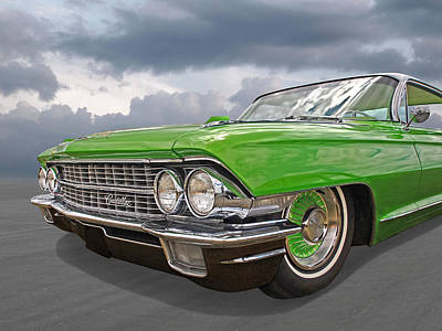 Photograph - Envy - 1962 Cadillac by Gill Billington