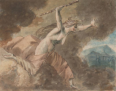 Drawing - Envy From Ovid's House Of Envy by Treasury Classics Art