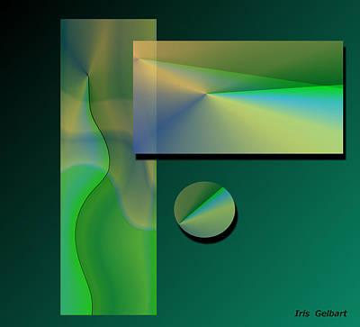 Digital Art - Envy by Iris Gelbart