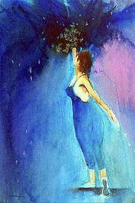 Painting - Enzi by Ed Heaton